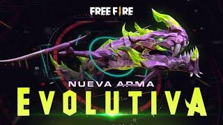 ¡DRAGÓN QUE EVOLUCIONA! 🔥🐉 - Nueva Arma de Free Fire [Animación] | Garena Free Fire
