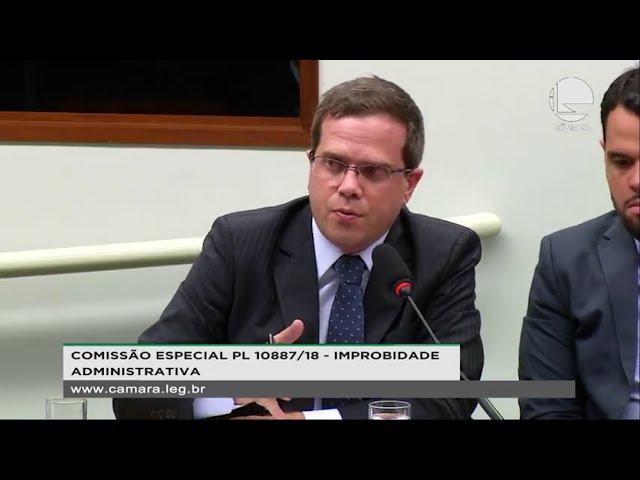 Audiência Pública - PL 10887/18 - Improbidade Administrativa - 09/10/2019