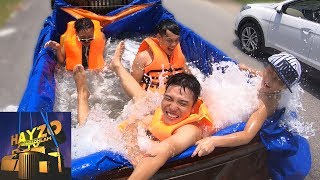 HAYZOtv: Cùng ' NTN Vlogs ' Thử Tắm Bể Bơi Di Động