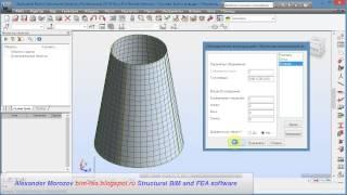 Библиотека конструкций в Robot Structural Analysis Professional часть 2