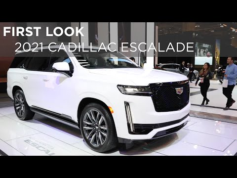 First Look | 2021 Cadillac Escalade | Driving.ca
