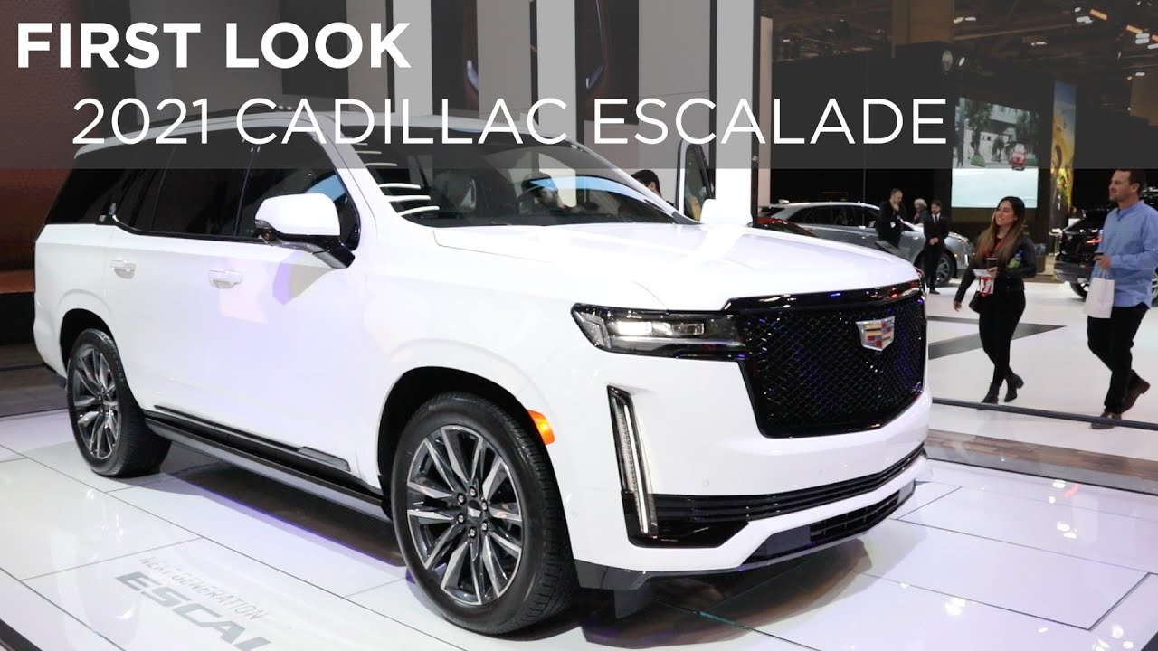 First Look | 2021 Cadillac Escalade | Driving.ca - YouTube