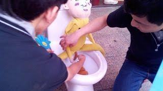 Китайские приколы #2: Туалетный ресторан