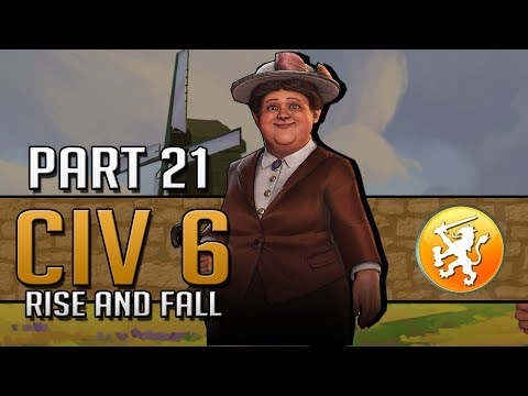 MISSION ACCOMPLISHED... SORT OF - Let's Play Civilization 6: Rise and Fall - Netherlands - Part 21