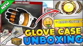 BRAND NEW CS:GO GLOVE CASE!! CAN I UNBOX THEM? IS THIS A JOKE? (CS:GO Gloves Case Opening)