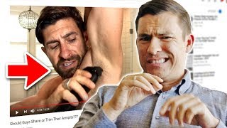 Antonio Reacts To AlphaM Videos (OMG!!) No Filter Opinion Of Aaron Marino Style Video