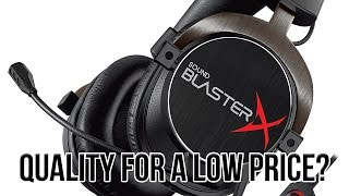 Creative Sound BlasterX H5 Tournament Edition Headset Review