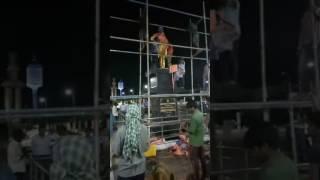 சிவாஜி கணேசன் சிலை நள்ளிரவில் திடீர் அகற்றம்!