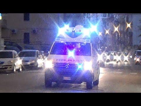 (Servizio Sanitario/EMS)Ambulanza Misericordia Cosenza in emergenza