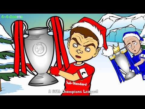 ⚽️🎄The Football 12 Days of Christmas🎄⚽️ Day 1 442oons Advent Calendar Funny Cartoon