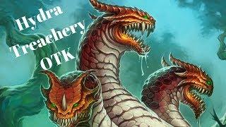 Bittertide Hydra Treachery OTK [Hearthstone Game of the Day]