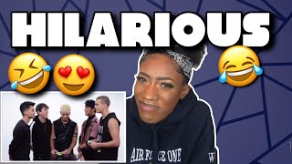 CNCO Compete in a Compliment Battle | Teen Vogue | REACTION!!!! 😍🔥😂