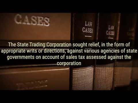 State Trading Corporation Of India Vs CTO