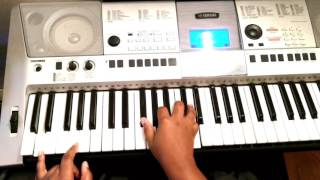 How to play Never Have to Be Alone by Cece Winans