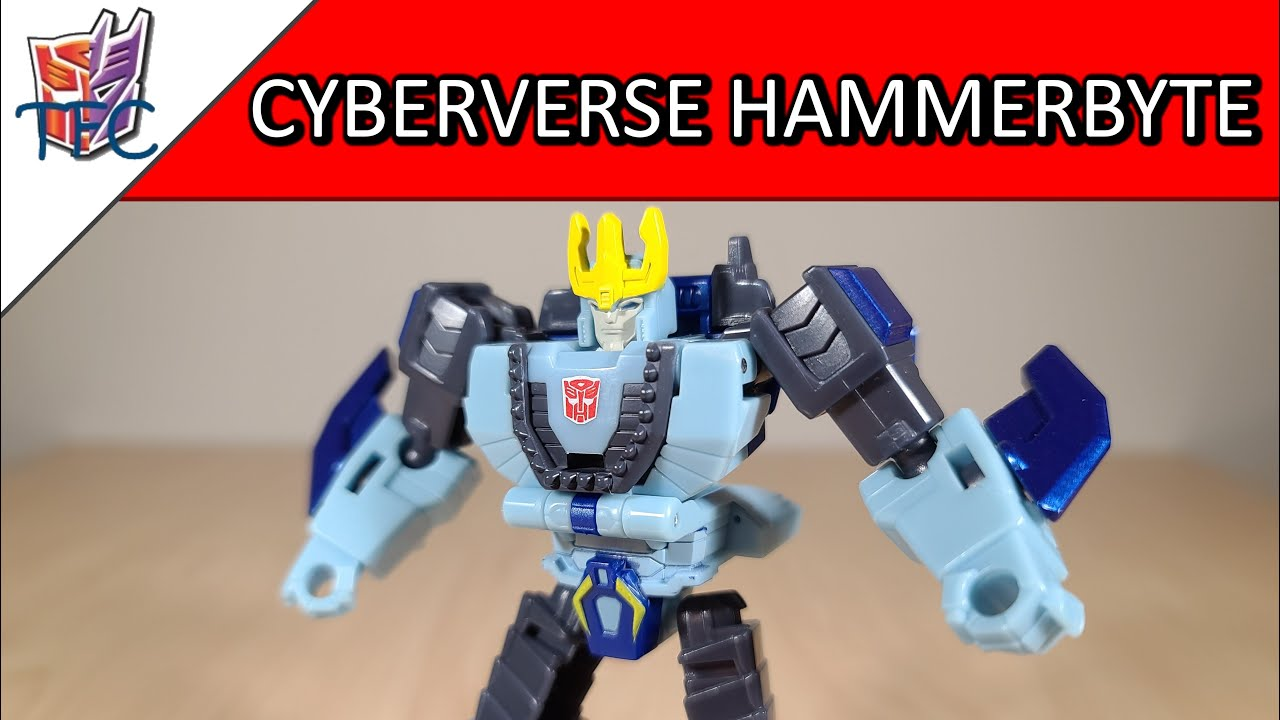 TF Collector Cyberverse Hammerbyte Review!