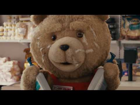 Ted - Supermarket funny scene HD