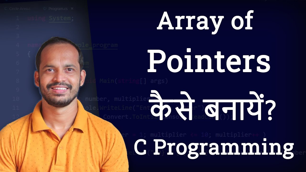 Array of pointers in c programming language video tutorial in hindi array of pointers in c programming language video tutorial in hindi youtube baditri Gallery