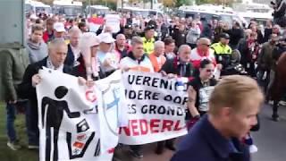 Reportage: Enschede heeft demonstraties van zondag achter de rug (TV Enschede)