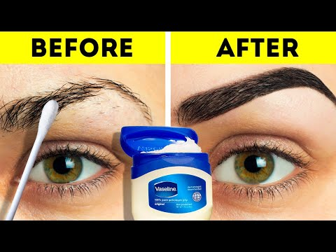 22 BEAUTY HACKS TO TRY AT HOME