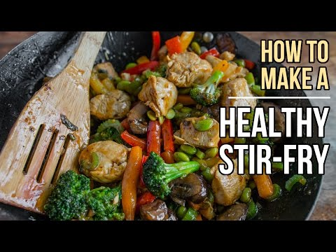 How to Make Perfect, Healthy Stir-fry  /  Cómo Preparar el Salteado