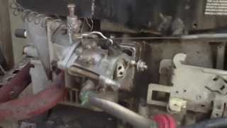 the std lawntractor fixing 465cc 12hp briggs