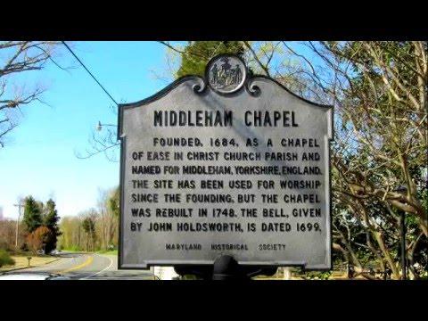 Middleham Chapel in Calvert County MD