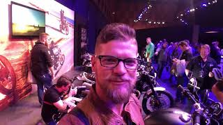 Triumph Global Dealer Conference in London Oct  2018 Walk Through With Nate from Frontline Eurosport