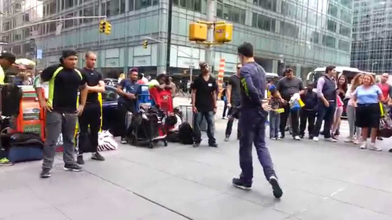 Street Dance in New York - YouTube
