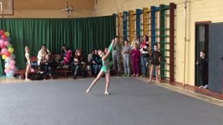 Киев 11 марта 2017 г. Выступление без предмета. Чемпионат школы Дерюгиной