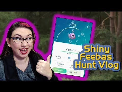 Shiny Feebas Quest Day Vlog! (Pokémon Go 2019) thumbnail