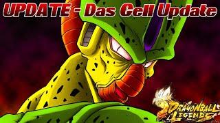 UPDATE - Das Cell Update! ;D Änderungen im PvP Modus! | Dragon Ball Legends Deutsch