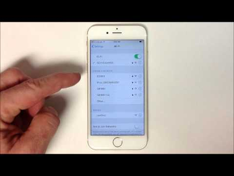 How to Connect to Wifi - iPhone 6