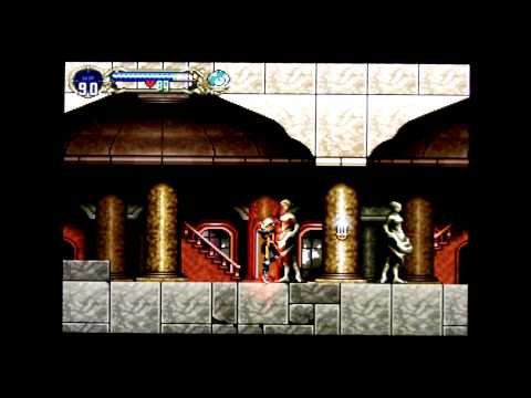 Castlevania Symphony of The Night - No Damage Part 03 (Marble Gallery, Outer Wall) [HD]