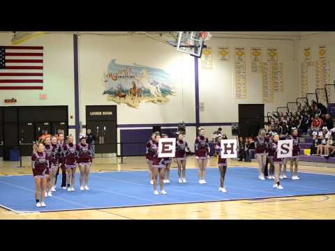 Elgin High School - 2012 Cheerleading Sectionals