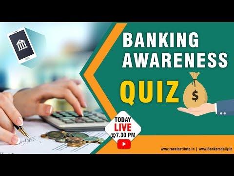 Banking Awareness Quiz | Legend Magazine | SBI CLERK EXAM 2018