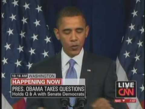Obama Addressing Democratic Senate Caucus Shrunk To 10 Minutes Of Substantive Highlights