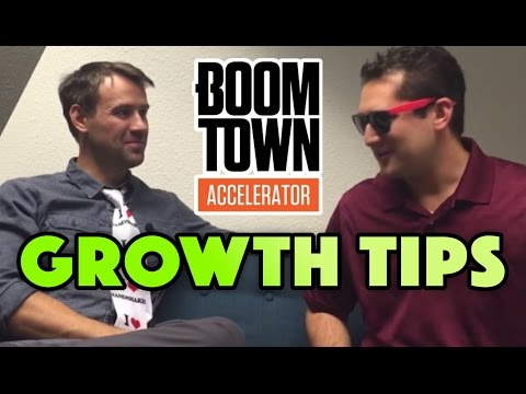 EXPERT GROWTH TIPS WITH SHAW LATHROP