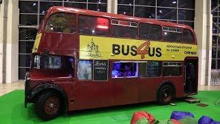 Интересные автобусы на выставке ''Urban transport- 2017'' - ВДНХ
