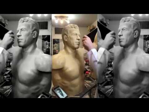 Academy's American Sport Art Museum & Archives Receives Iranian Wrestler Sculpture