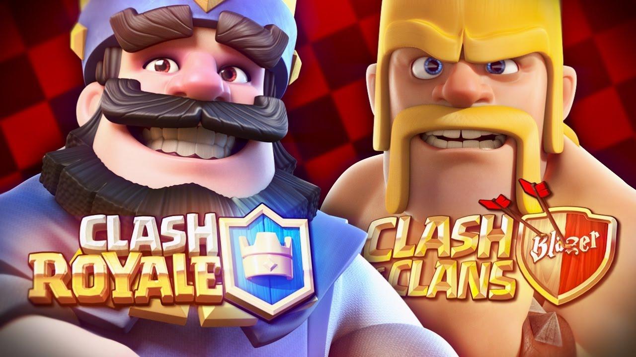 Resultado de imagem para clash royale clash of clans