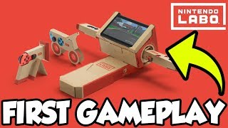 ALL 200cc Grand Prix Gold Trophies!   Racing With Nintendo Labo Motorbike!  [🔴LIVE]