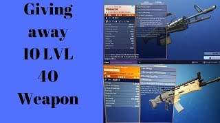 FORTNITE Giveaway 5k V BUCK 500 SUB/10 PWR 106 Weapon 400 SUB Save The World Gameplay /No Trading