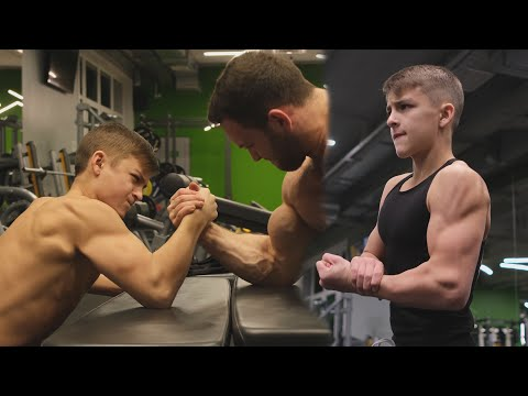 13 Years Old Monster Kid Beat All Mans In Gym | World Strongest Boy - Kikboxer Mark