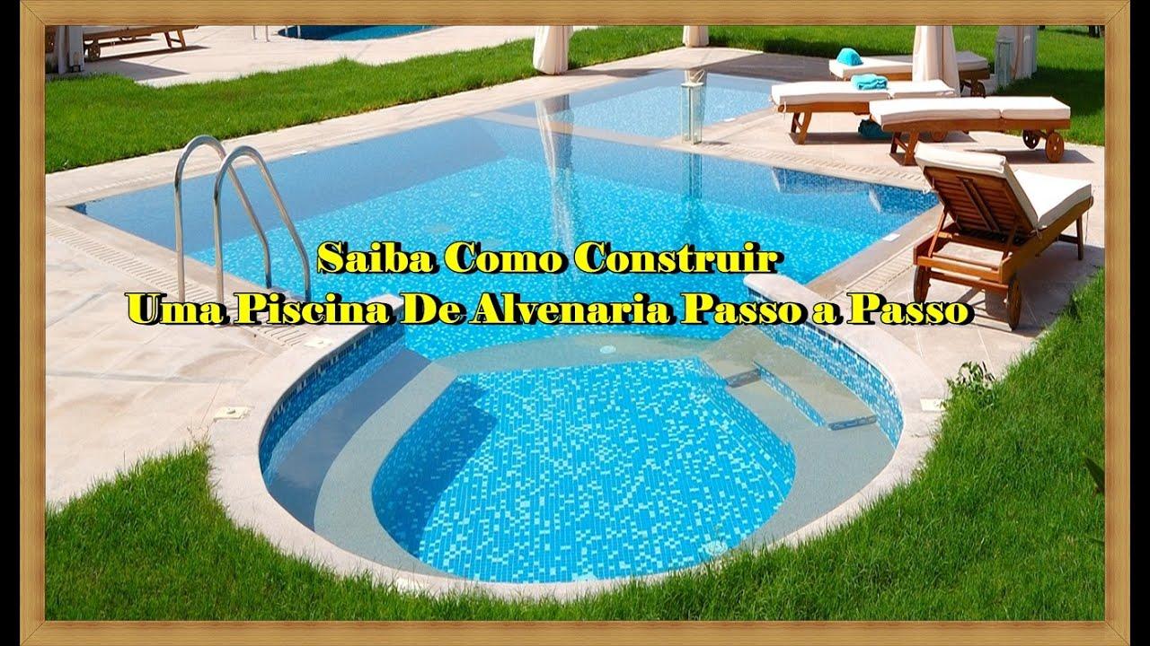 Como construir uma piscina como construir uma piscina de for Piscinas de plastico para ninos