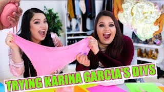 TESTING OUT KARINA GARCIA'S DIYS! | TWIN EDITION