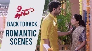 Fidaa Love Scenes Back To Back - Blockbuster HIT | Varun Tej, Sai Pallavi