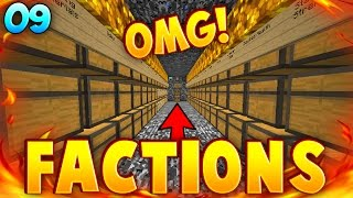 THE BIGGEST BEDROCK VAULT ON THE SERVER!! | TheArchon Factions Ruby #9!