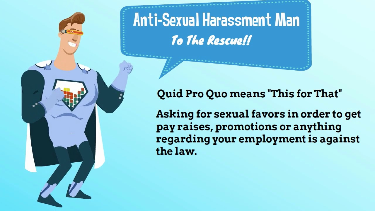 What is quid pro quo sexual harassment images 15