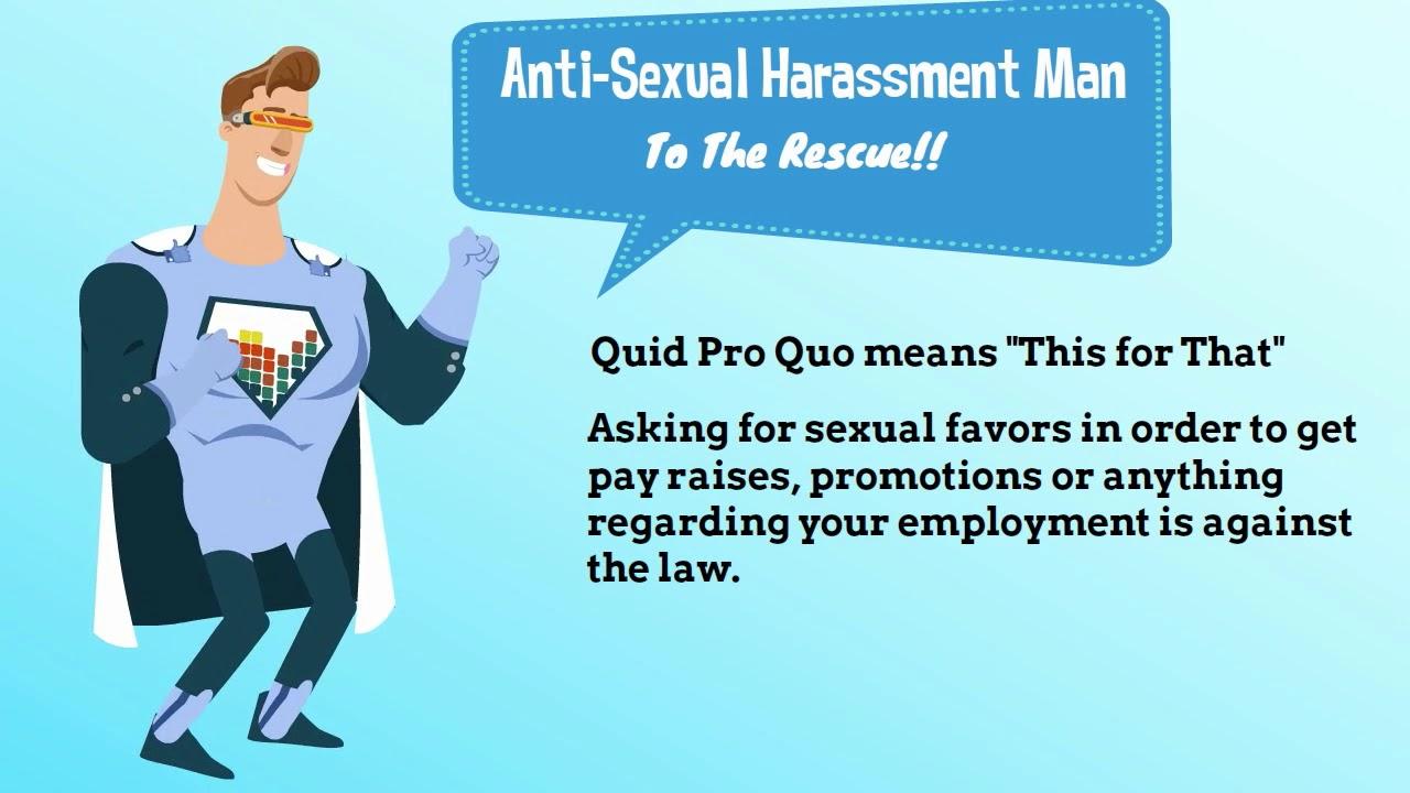 Sexual harassment quid pro quo pic 336