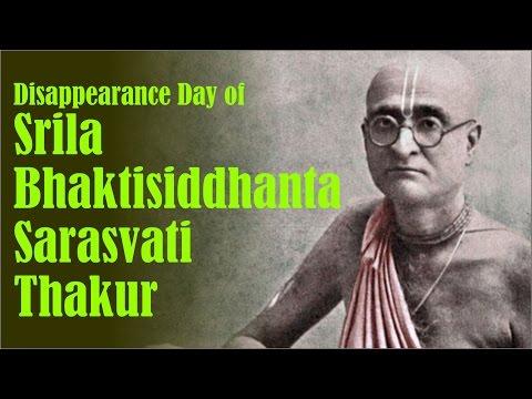 Disappearance Day of Srila Bhaktisiddhanta Sarasvati Thakur on 17th Dec 2016 at ISKCON Juhu